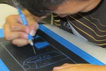 Studentat Mid Valley Elementary School's Migrant Summer School in Odel