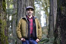 Jeff Fearnside at the McDonald-Dunn Forest Old Growth Trail.
