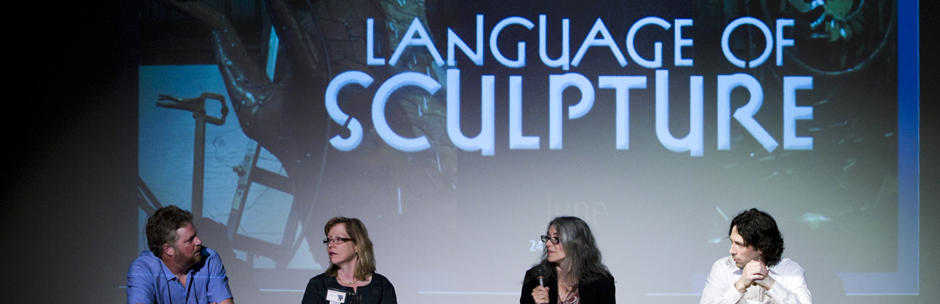 "Lakewood Center for the Arts, ""Language Sculpture"" Lecture"