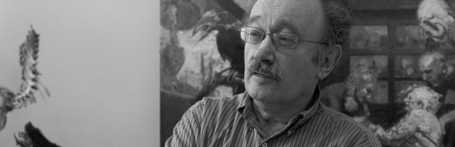Henk Pander, painter and Governor's Arts awardee